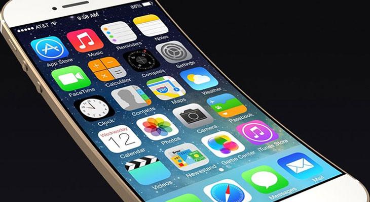 Los futuros iPhones podrían tener una pantalla curva que controlaremos sin necesidad de tocarla