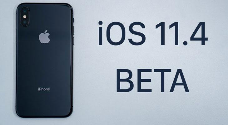 Apple lanza iOS 11.4 para desarrollares