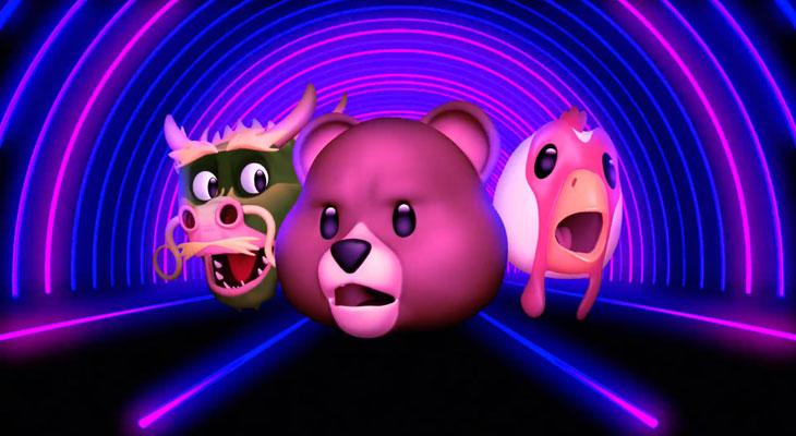 Los Animoji cantan la nueva canción de la banda coreana HYUKOH en un anuncio