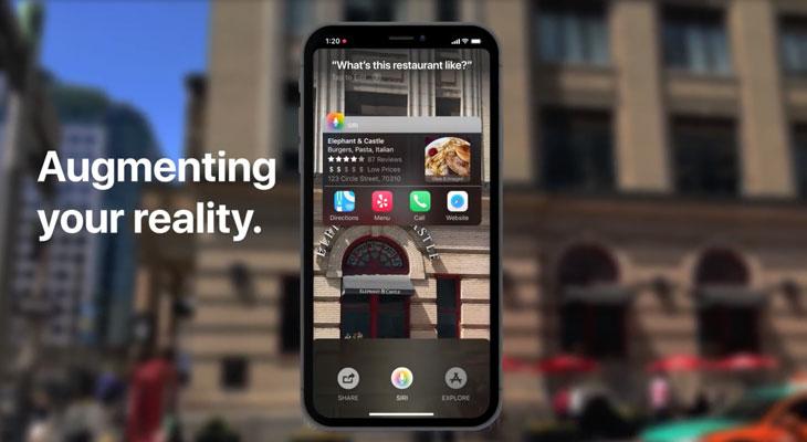"""Nuevo concepto de iOS 12 propone un nuevo modo """"Siri Sight"""" de realidad aumentada [Vídeo]"""