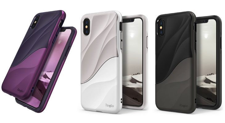 be34d3a6129 Carcasa de doble capa para iPhone XS, X y XS Max | Rinkle Wave
