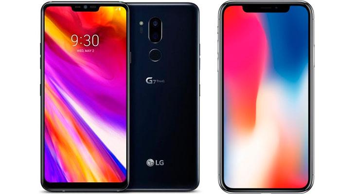 El iPhone de 6,1″ podría tener pantalla MLCD+ como la de LG G7 ThinQ