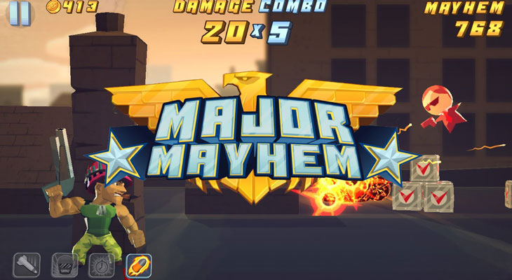 Major-Mayhem iPhone