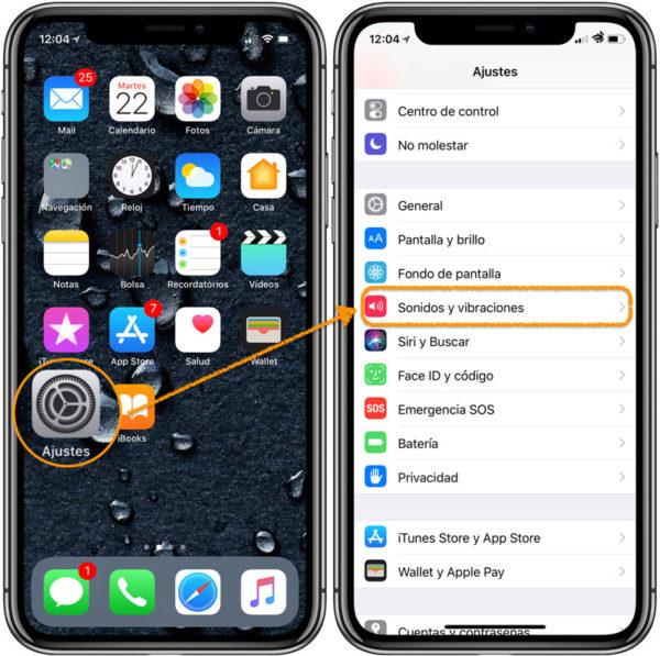 Personalizar vibraciones iPhone