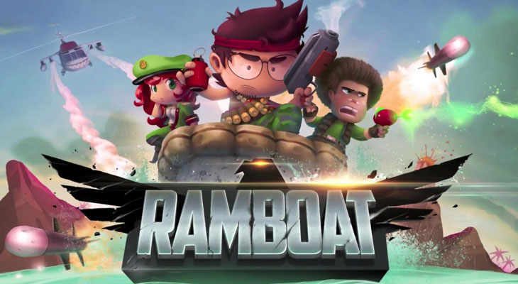 RAMBOAT--Action-endless-runner-iPhone