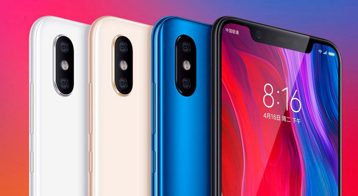 Xiaomi lanza la copia barata del iPhone X, el Mi 8