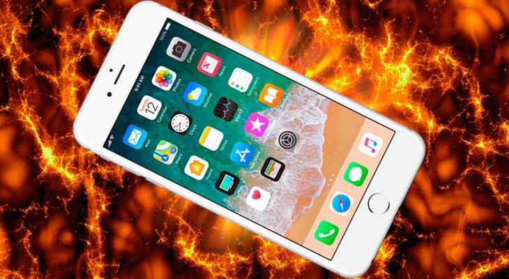 Aparece un vídeo de un supuesto iPhone que explota