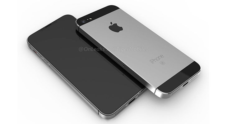 Un render muestra un iPhone SE 2 sin Touch ID y Face ID
