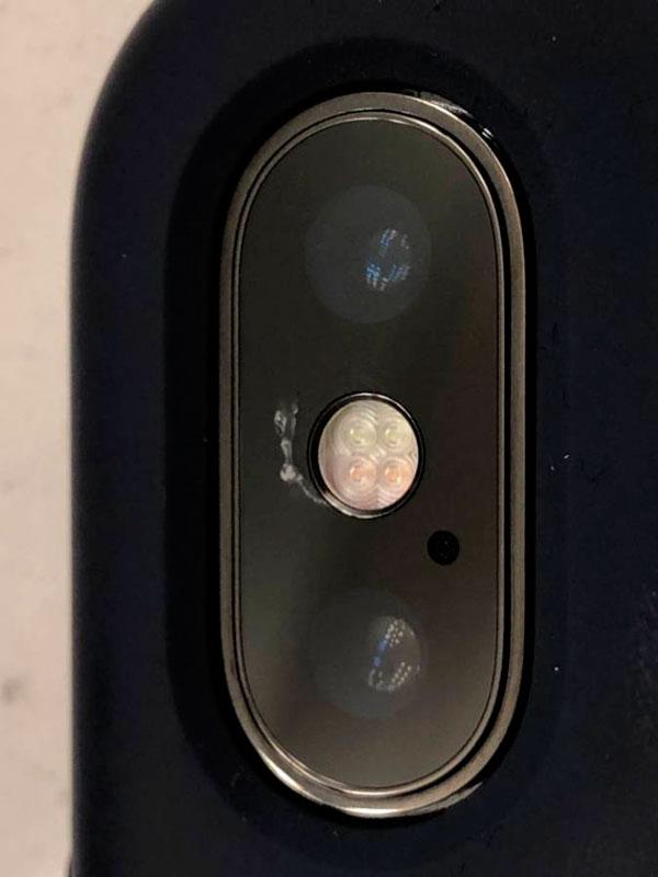 iPhone-X-Cámara-Rota