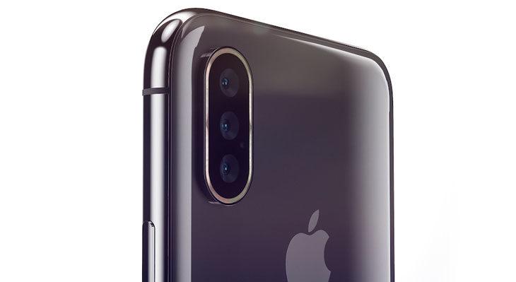 Vuelven los rumores de un iPhone con tres cámaras para 2019