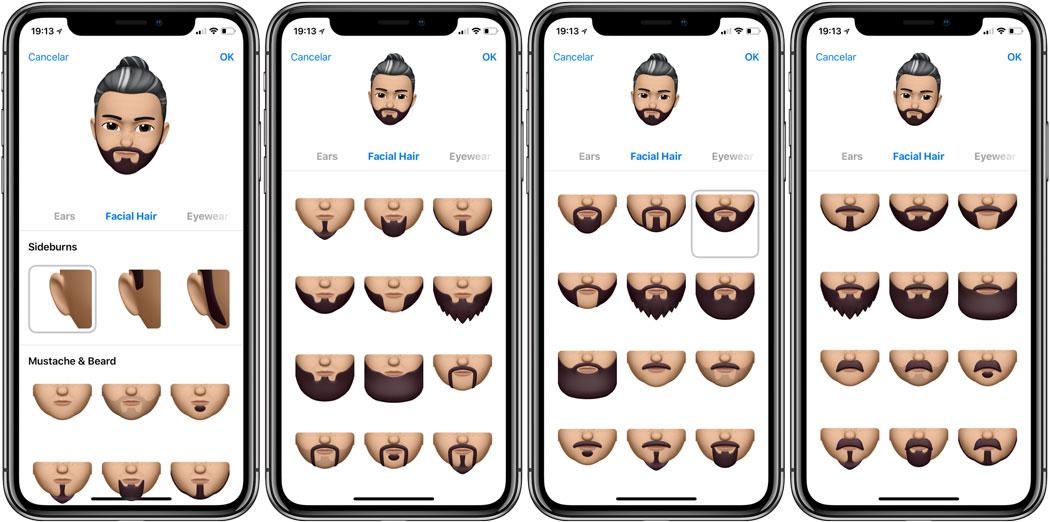 Como-crear-un-memoji barba