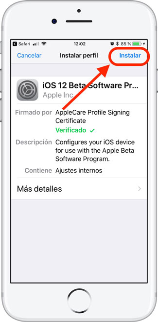 Instalar-Beta-5