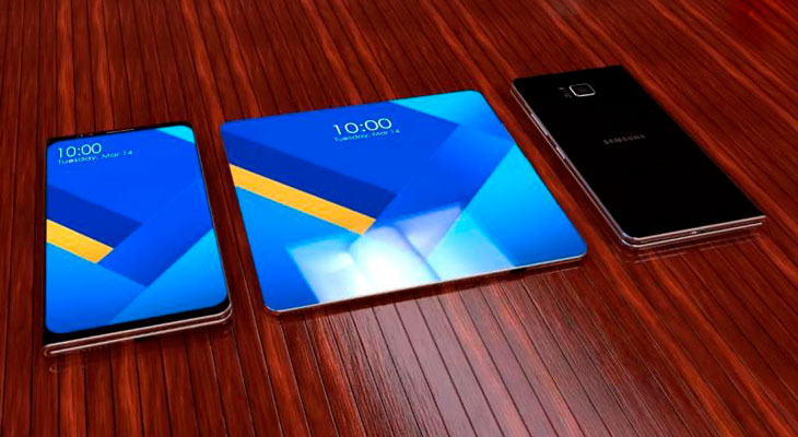Project Valley, prototipo de smartphone plegable de Samsung