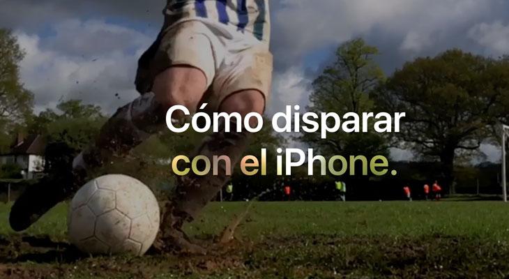 Los nuevos tutoriales de Apple nos enseñan a fotografiar el fútbol con nuestro iPhone
