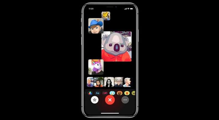 iOS 12 por fin permitirá hacer llamadas grupales en FaceTime de hasta 32 participantes