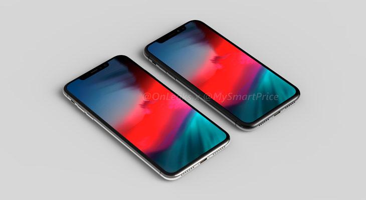 Estos renders nos muestran cómo serían los nuevos iPhones de 6,1 y 6,5 pulgadas [Vídeo]