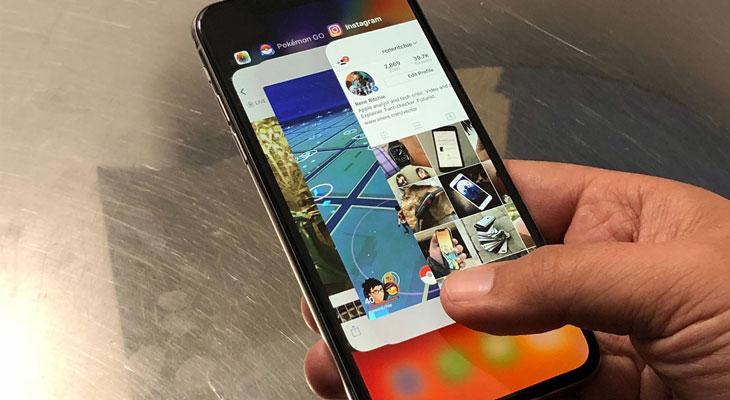 iOS 12 cambia la manera de cerrar las aplicaciones en el iPhone X