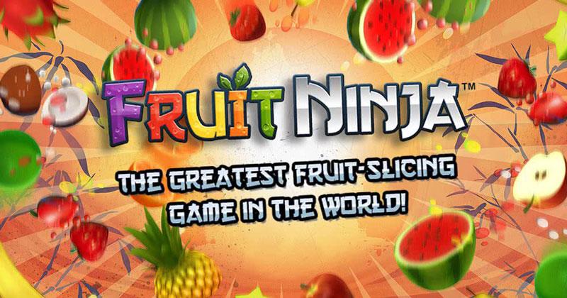 Fruit ninja iPhone