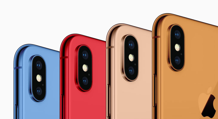 iPhone 2018 colores
