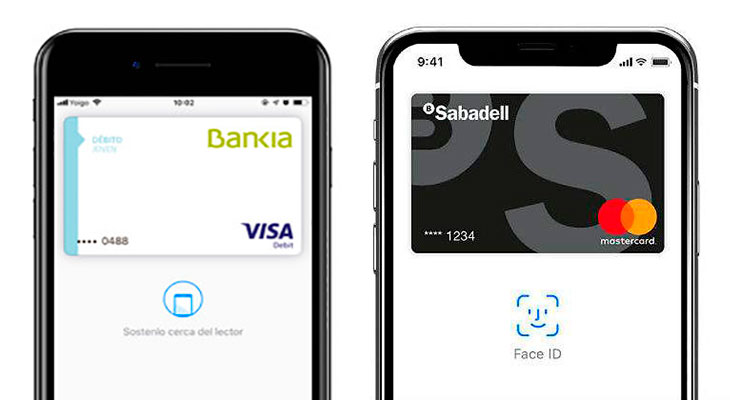 Apple Pay sigue creciendo en España: Banco Sabadell y Bankia ya son compatibles