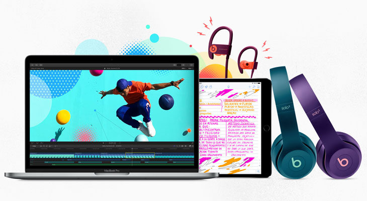 Si compras un Mac o un iPad Pro para la Universidad, Apple te regala unos Beats