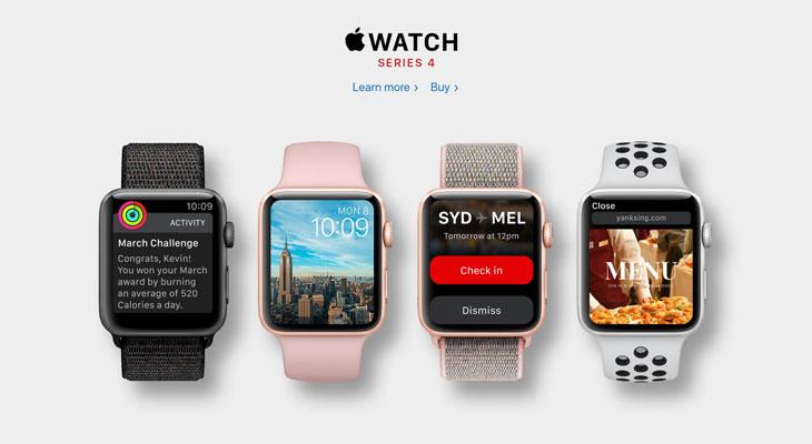 Nuevos renders muestran cómo sería un Apple Watch Series 4 con pantalla más grande