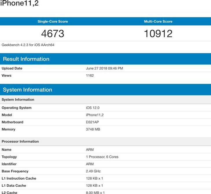 Geekbench-iPhone-2018