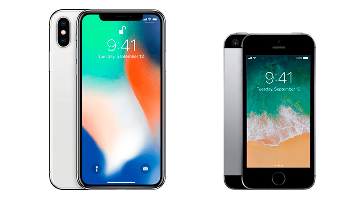 Apple podría descontinuar el iPhone X y el iPhone SE en otoño