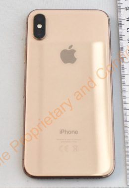 iPhone X color oro