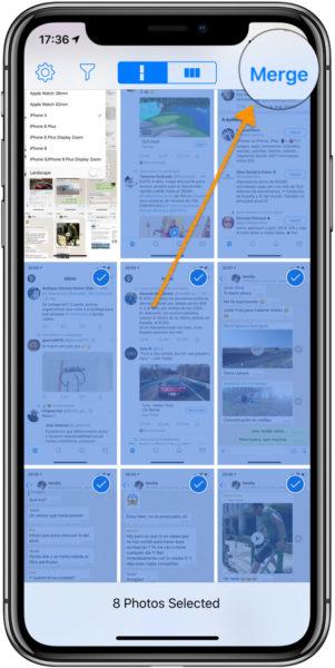 Capturar conversacion completa whatsapp iPhone