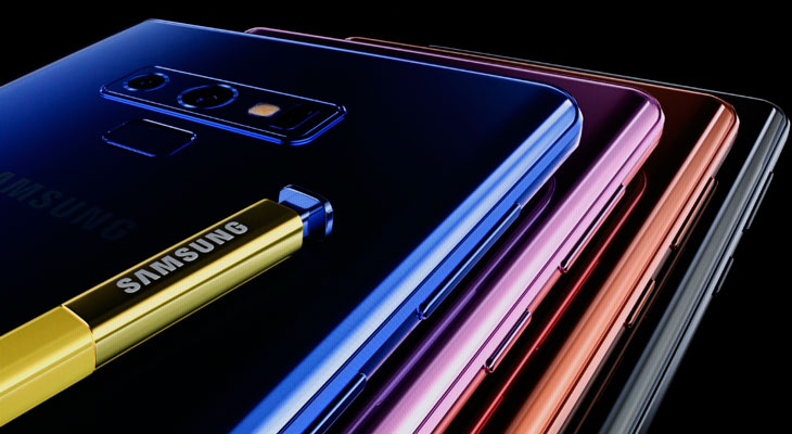 El iPhone X supera al nuevo Galaxy Note 9 en test de Benchmark