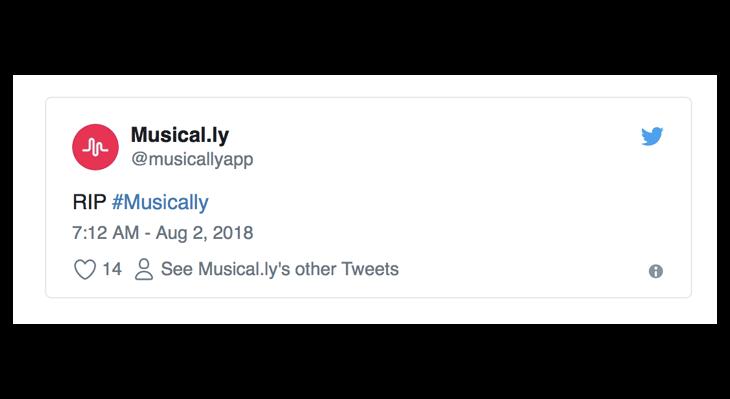 Musical.ly está oficialmente muerta