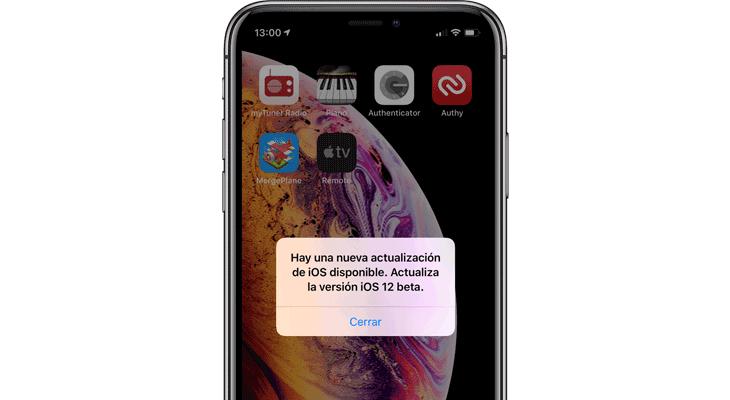 Apple lanza iOS 12 Beta 12, por fin…