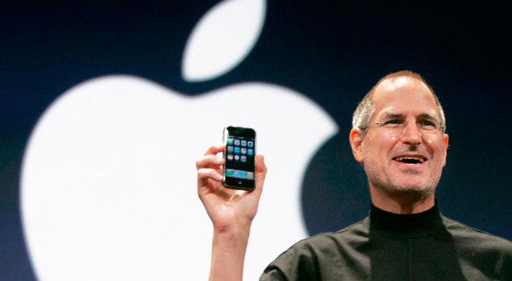 Así de feo podría haber sido el teclado del iPhone