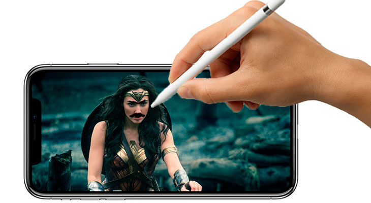 Los iPhones de 2018 podrían ser compatibles con el Apple Pencil y tener capacidad de hasta 512 GB