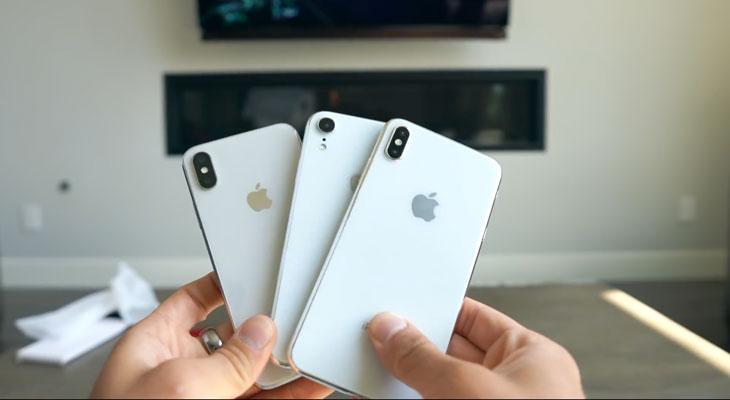 Nuevo vídeo nos muestra los iPhones de 2018 con todo detalle