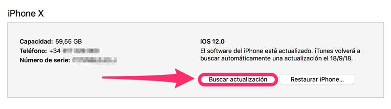 Actualizar-iOS-12-iTunes