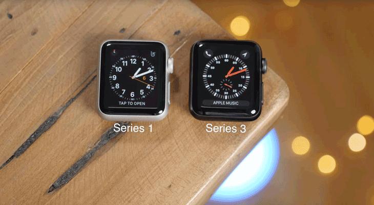 El 90% del los compradores del Apple Watch prefiere el Series 1 al Series 3