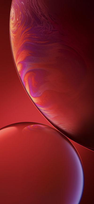 Fondo-de-pantalla-iPhone-Xr-Rojo