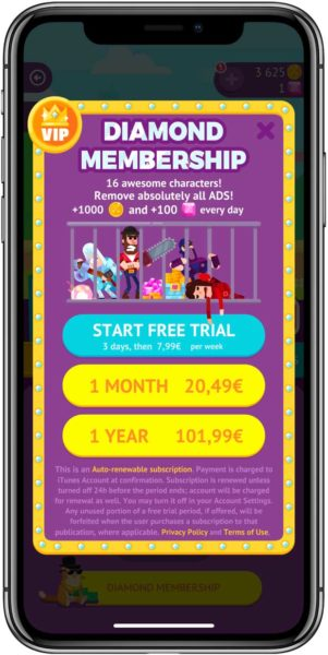 Suscripciones App Store