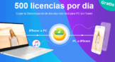 WinX MediaTrans Gratis, consigue la mejor alternativa a iTunes de regalo