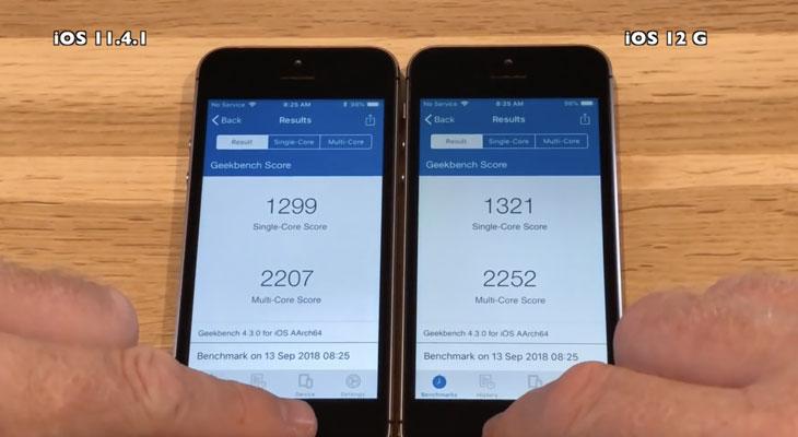 iOS-12-Vs-iOS-11-BenchMark-iPhone-5s