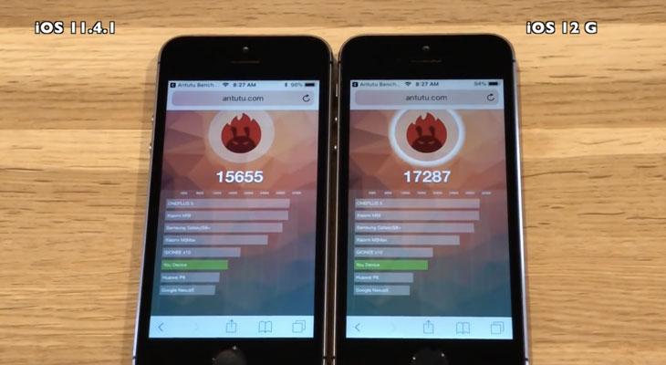 iOS-12-Vs-iOS-11-en-iPhone-5s