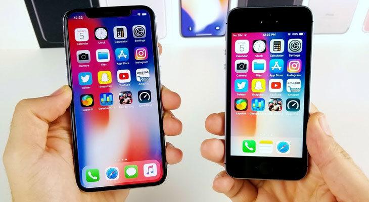 Apple deja de vender el iPhone SE, el iPhone 6S y el iPhone X