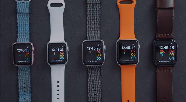 Comparativa de velocidad entre todos los Apple Watch lanzados