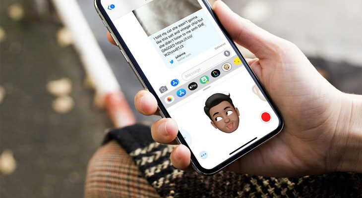 Todos los efectos de la nueva cámara de mensajes en iOS 12
