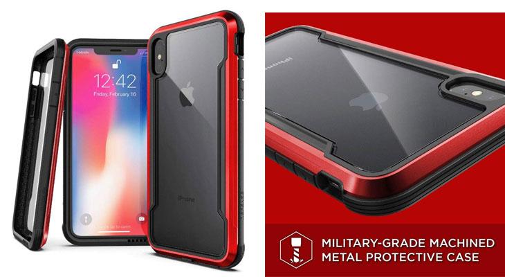 Funda-transparente-protección-grado-militar-iPhone-Xr