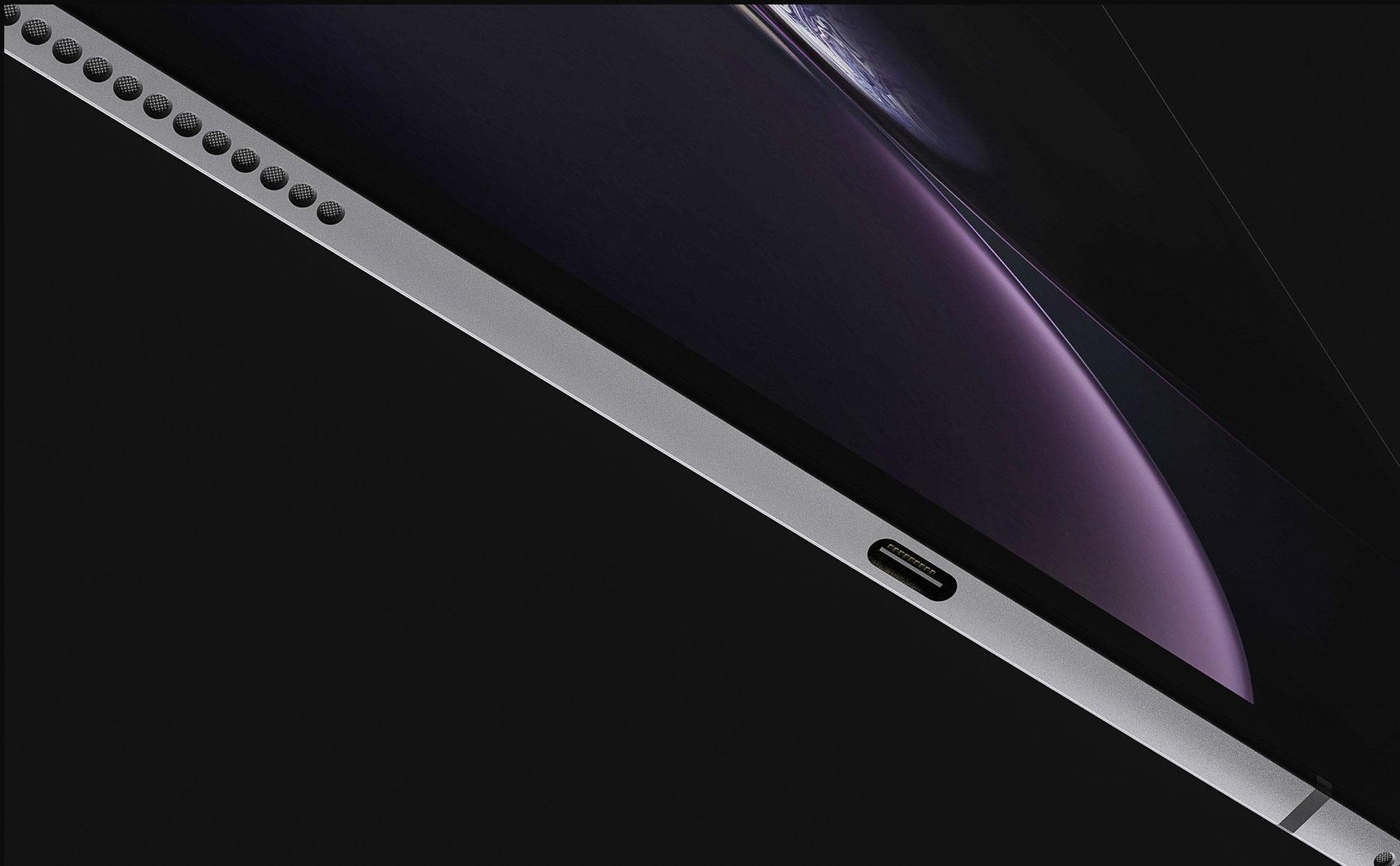 iPad Pro USB-C altavoces