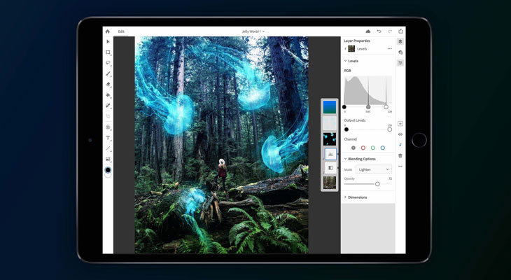 Adobe lanzará un Photoshop completo para iPad en 2019 [Vídeo]