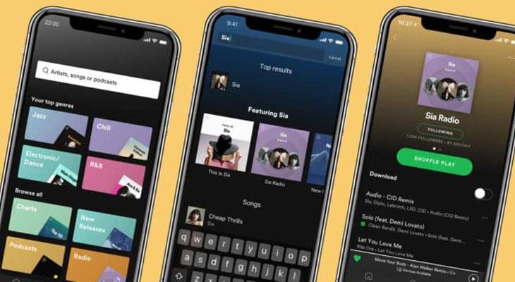 Spotify para iOS se actualiza con importantes mejoras
